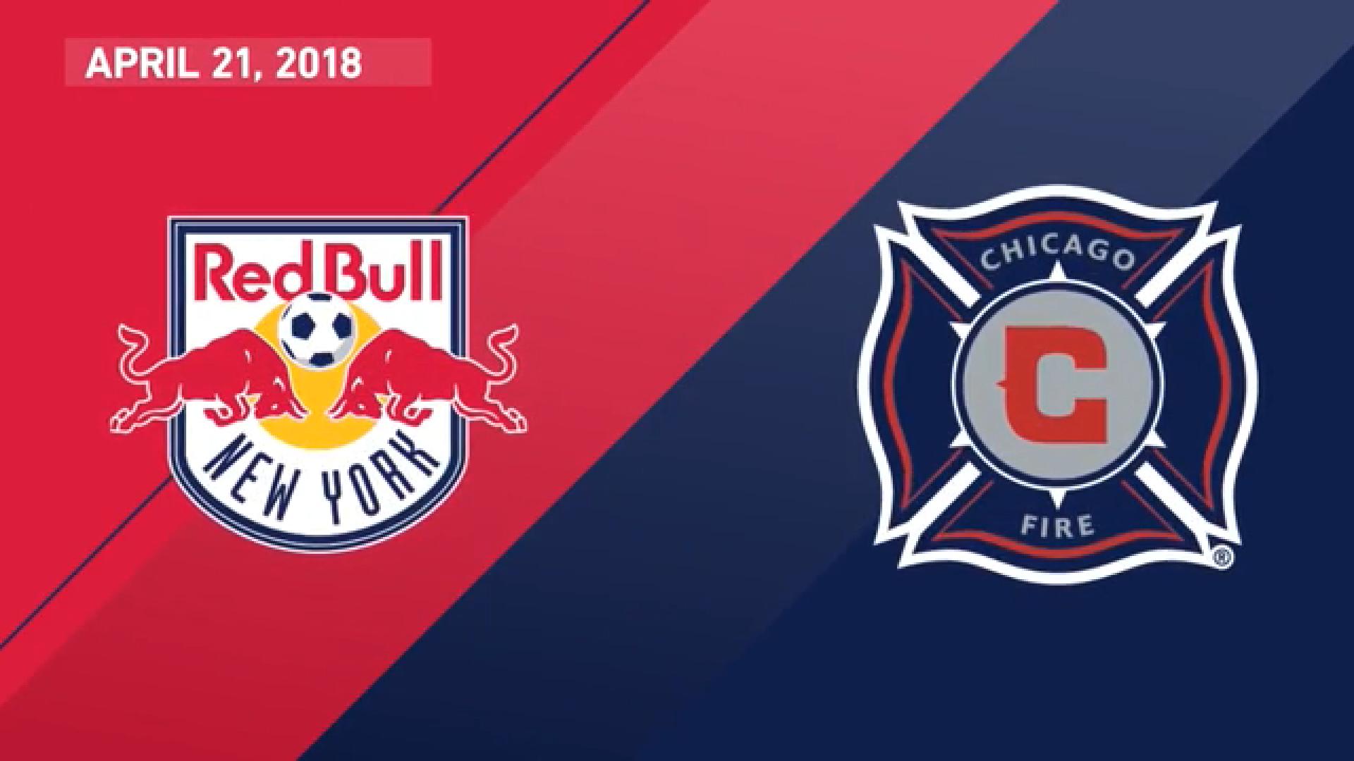 22-04-2018 - New York Red Bulls 1-2 Chicago Fire