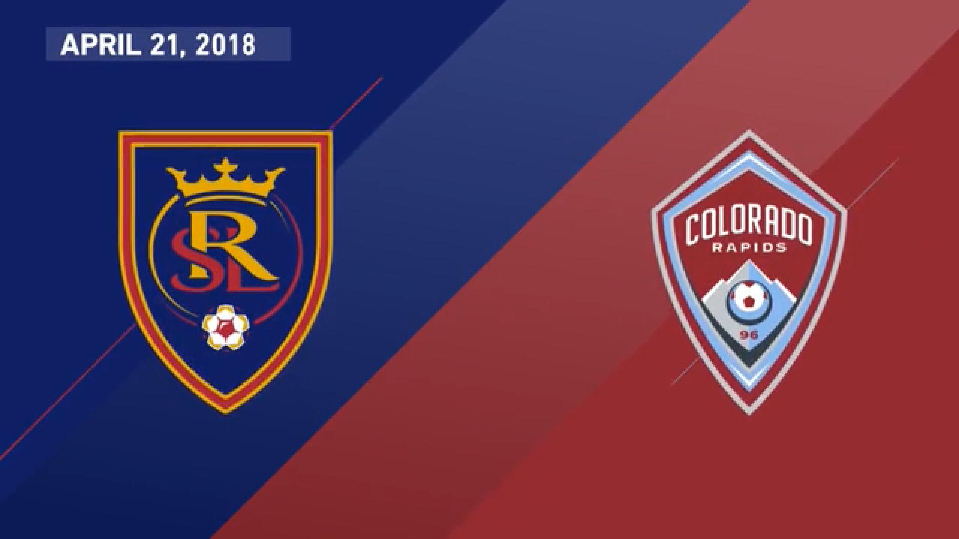 22-04-2018 - Real Salt Lake 3-0 Colorado Rapids