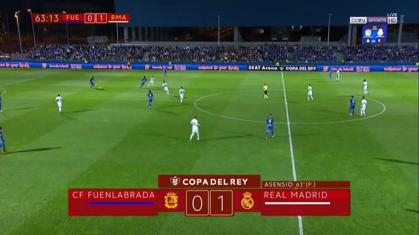 26-10-2017 - Fuenlabrada 0-2 Real Madrid (COPA DEL REY)
