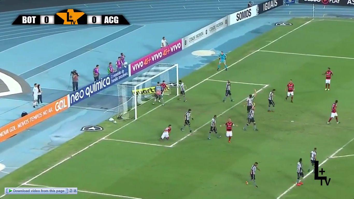 17-11-2017 - Botafogo RJ 1-2 Atletico GO