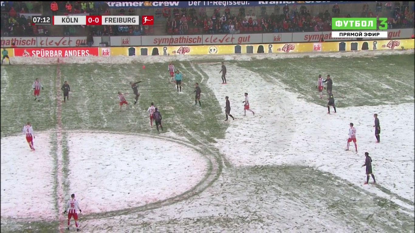 10-12-2017 - FC Cologne 3-4 Freiburg