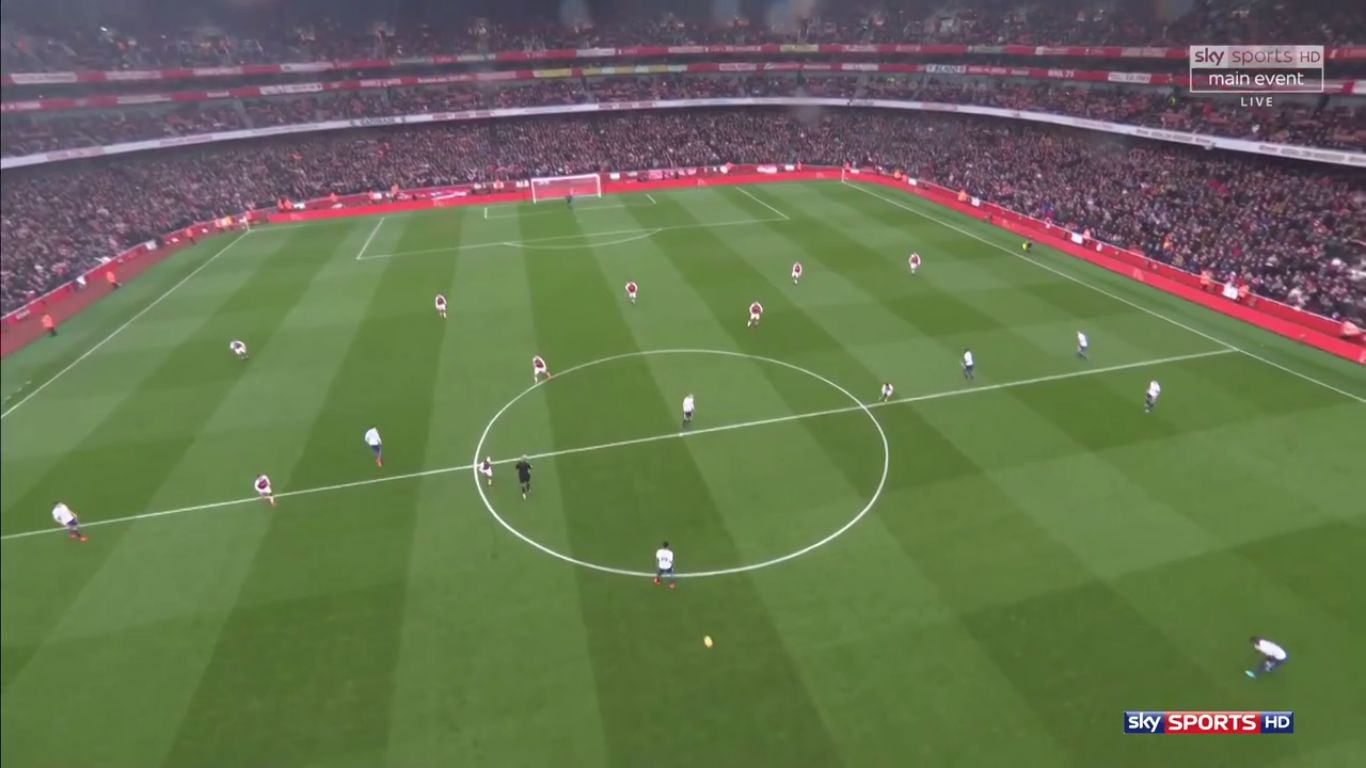 18-11-2017 - Arsenal 2-0 Tottenham Hotspur