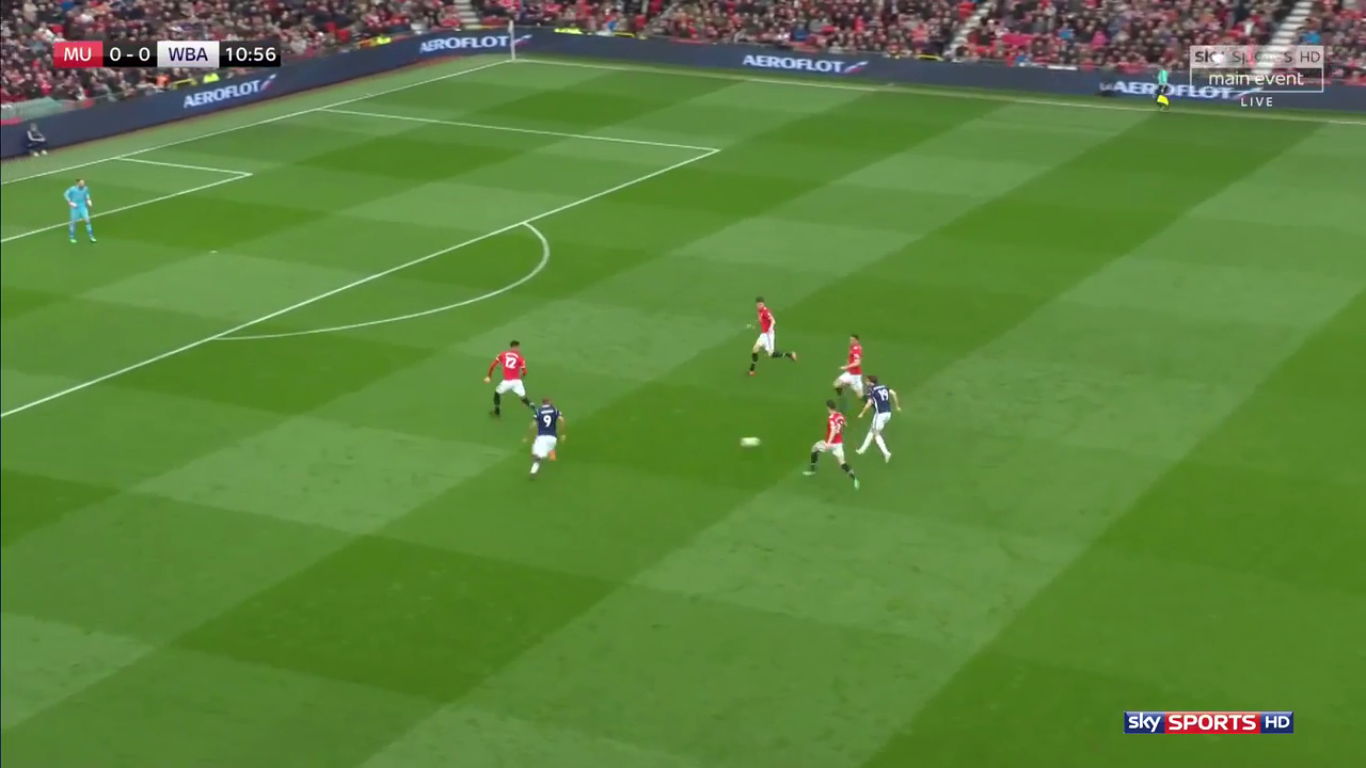 15-04-2018 - Manchester United 0-1 West Bromwich Albion