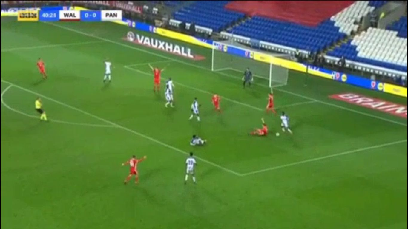 14-11-2017 - Wales 1-1 Panama (FRIENDLY)