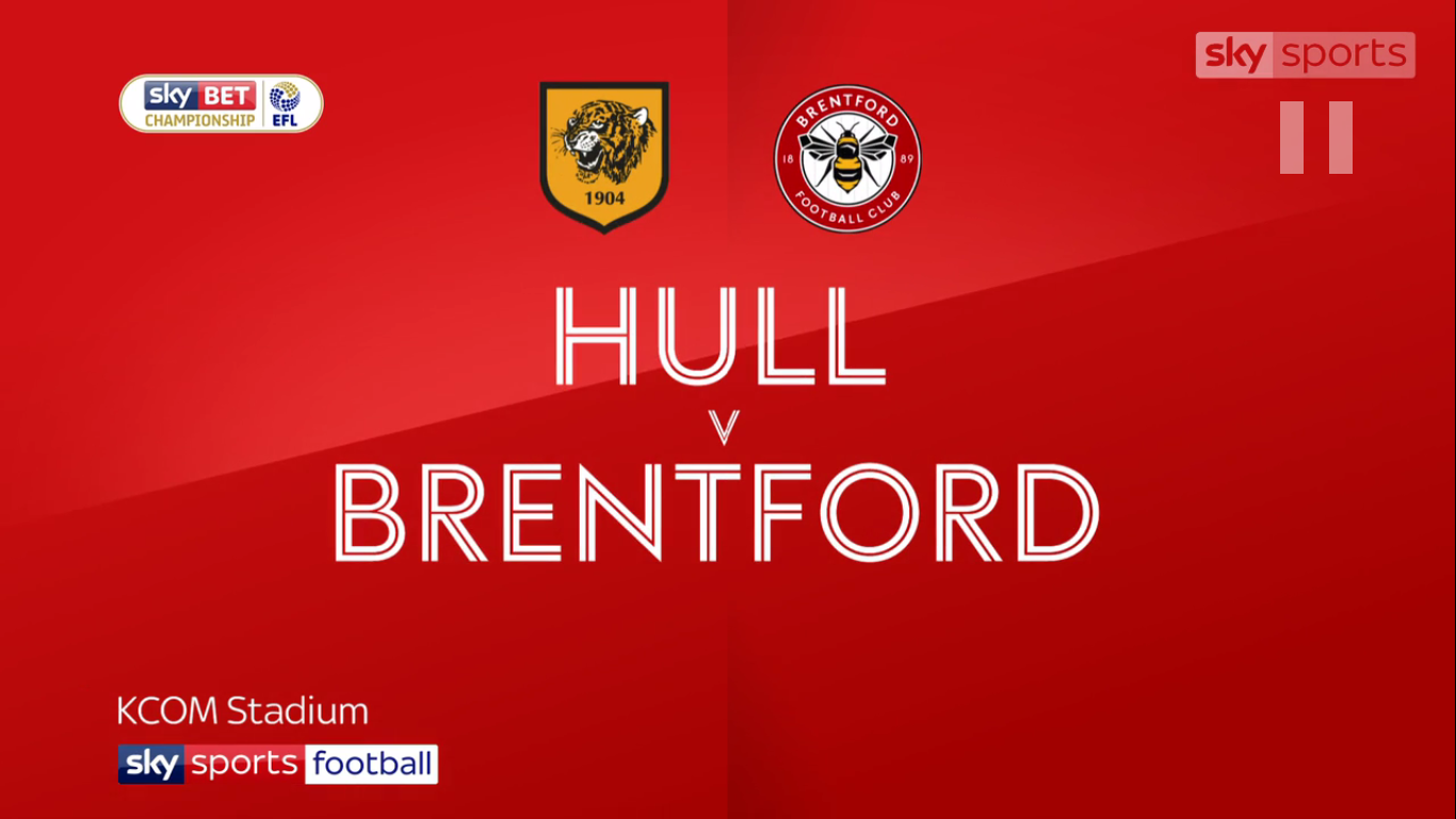 09-12-2017 - Hull City 3-2 Brentford (CHAMPIONSHIP)