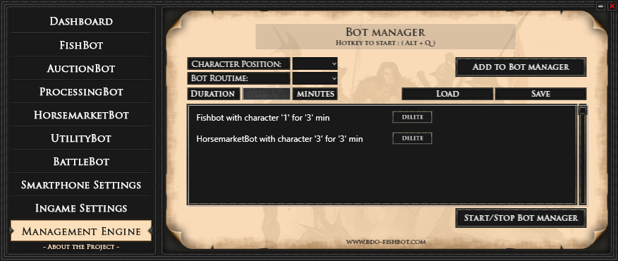 Bot] MrNiceGuy's BDO Multibot Trial (Fishing/Processing