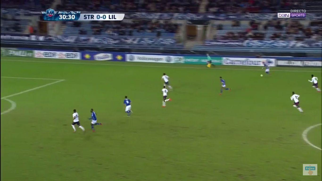 25-01-2018 - Strasbourg 2-1 Lille (COUP DE FRANCE)