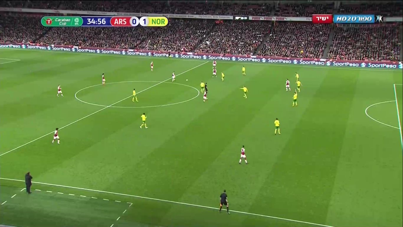 24-10-2017 - Arsenal 2-1 Norwich City (EFL CUP)