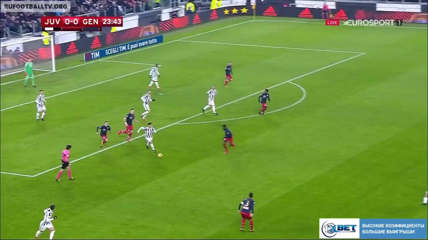 20-12-2017 - Juventus 2-0 Genoa (COPPA ITALIA)