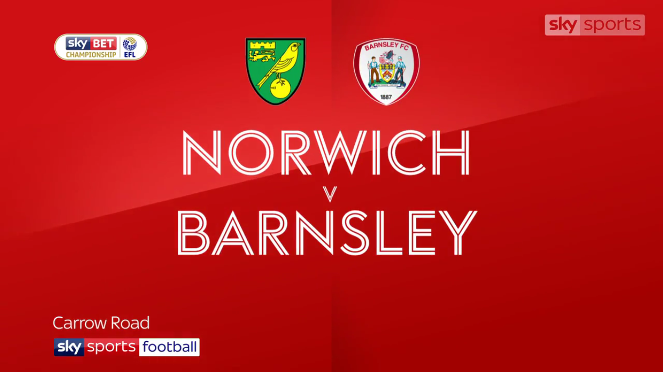 18-11-2017 - Norwich City 1-1 Barnsley (CHAMPIONSHIP)