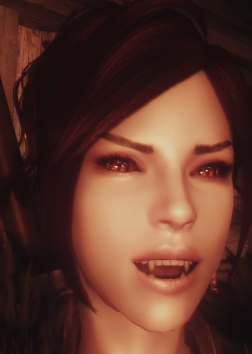 vampire fang replacer for realistic teeth - Page 2 - Skyrim