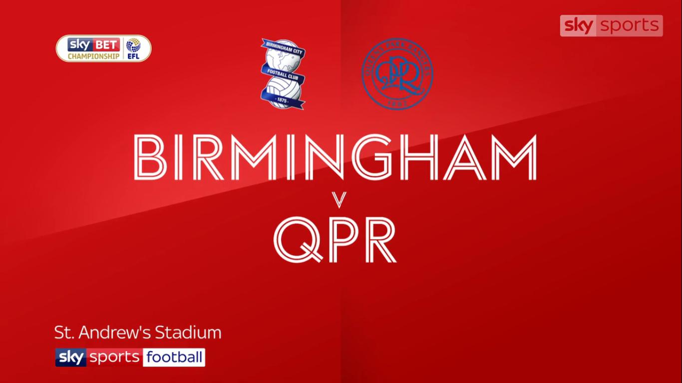 16-12-2017 - Birmingham City 1-2 Queens Park Rangers (CHAMPIONSHIP)