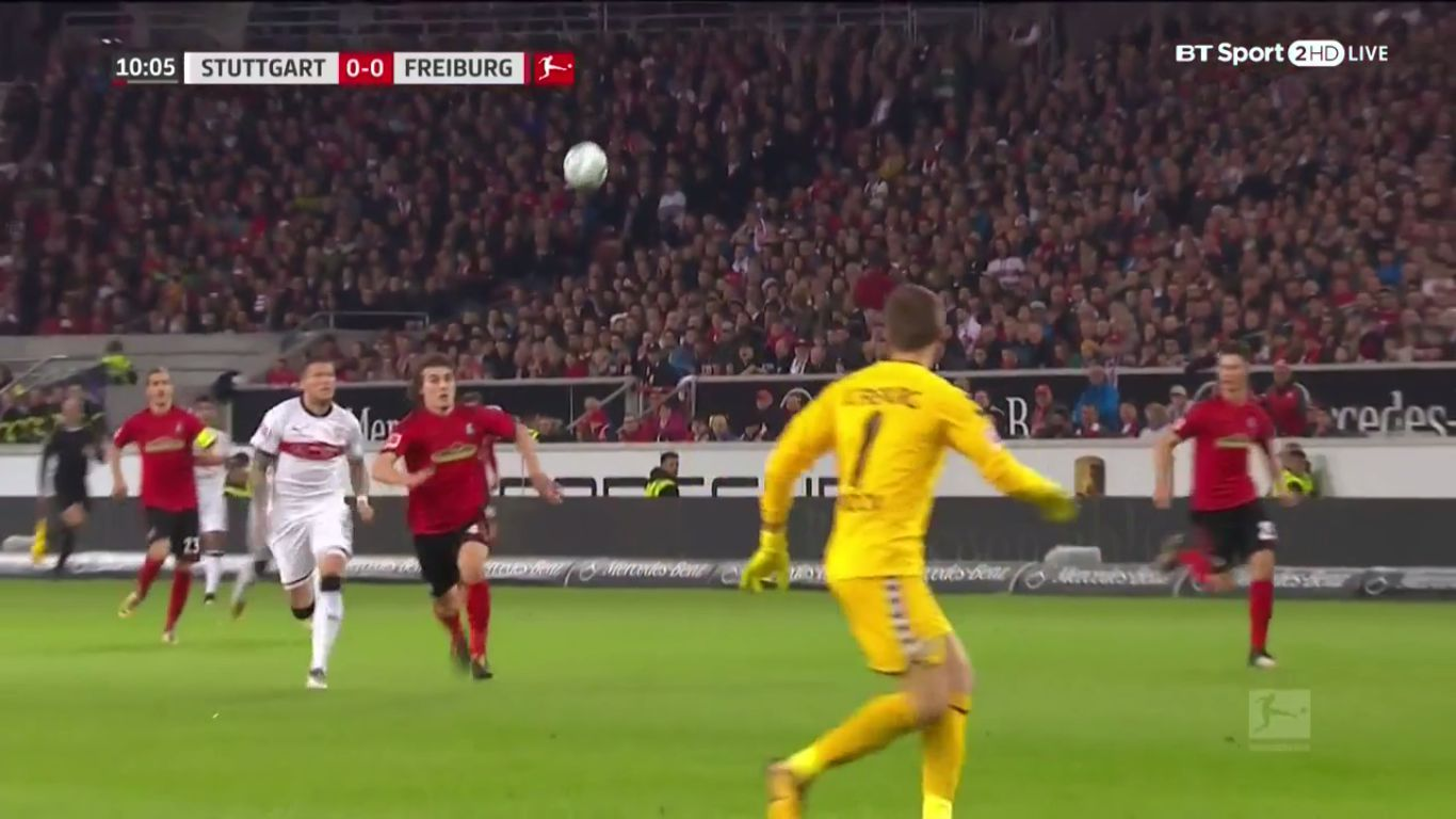 29-10-2017 - VfB Stuttgart 3-0 Freiburg