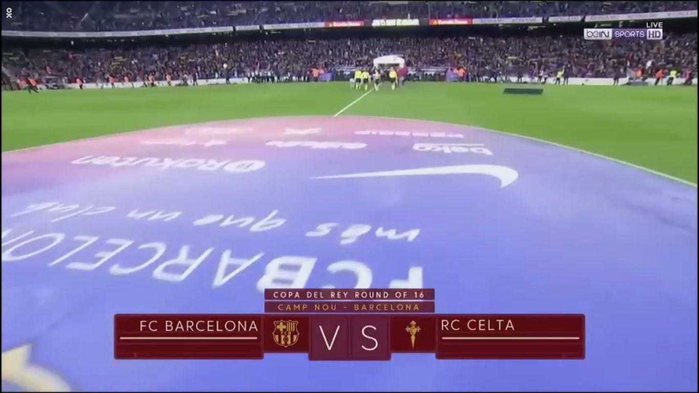 11-01-2018 - Barcelona 5-0 Celta Vigo (COPA DEL REY)