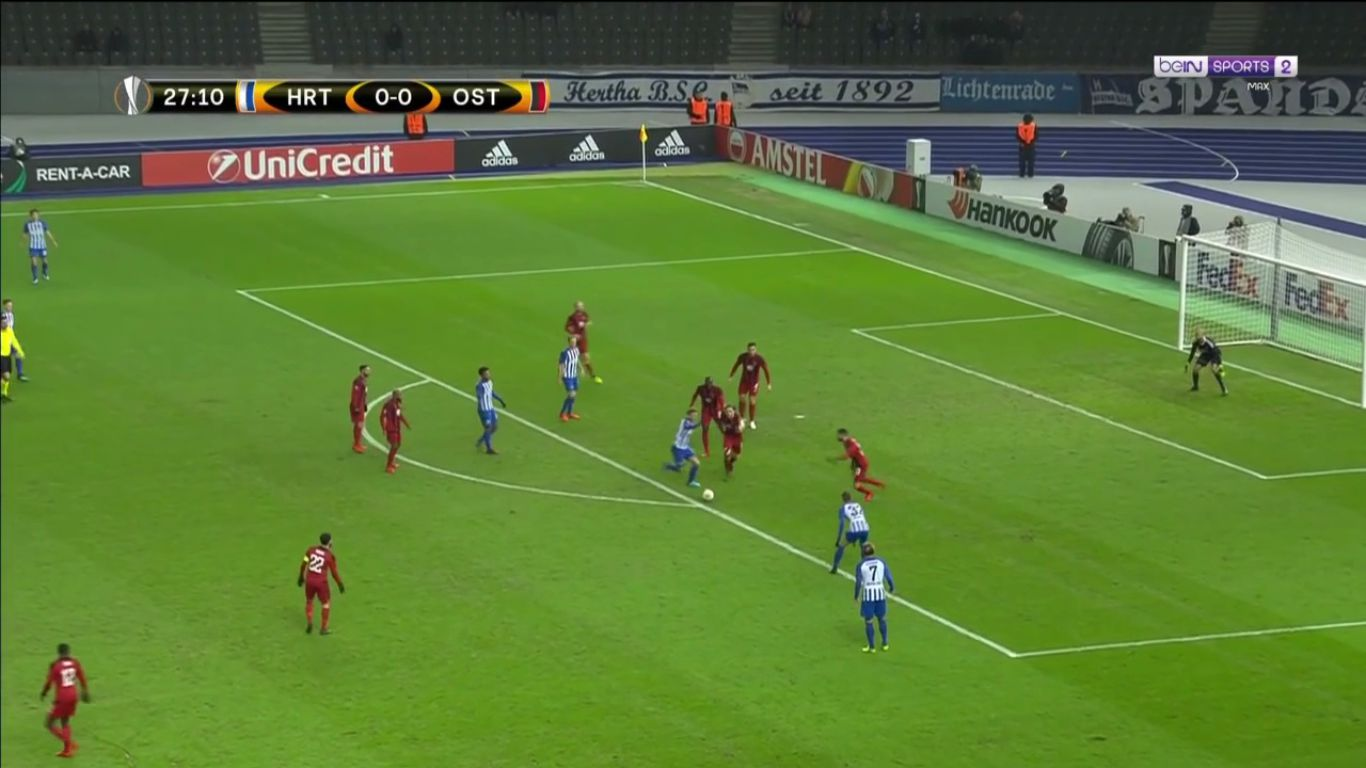 07-12-2017 - Hertha Berlin 1-1 Oestersunds FK (EUROPA LEAGUE)