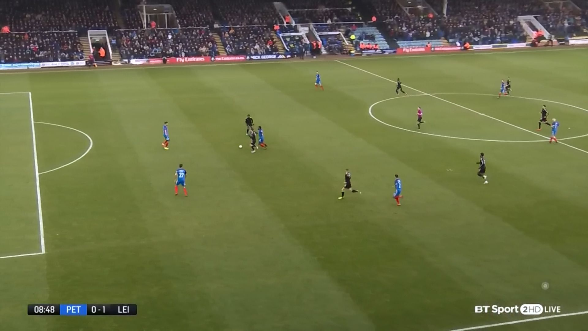 27-01-2018 - Peterborough United 1-5 Leicester City (FA CUP)