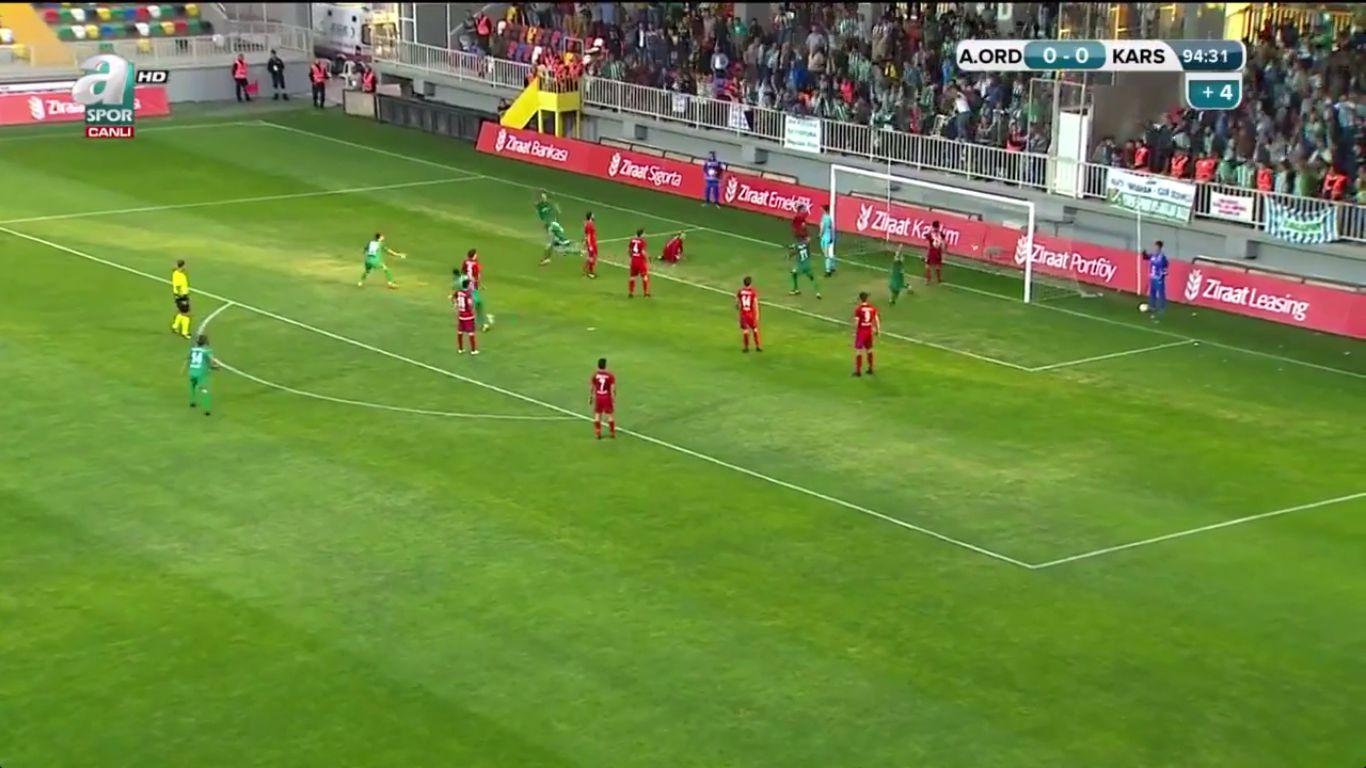 24-10-2017 - Altinordu 0-1 Karsspor (ZIRAAT CUP)