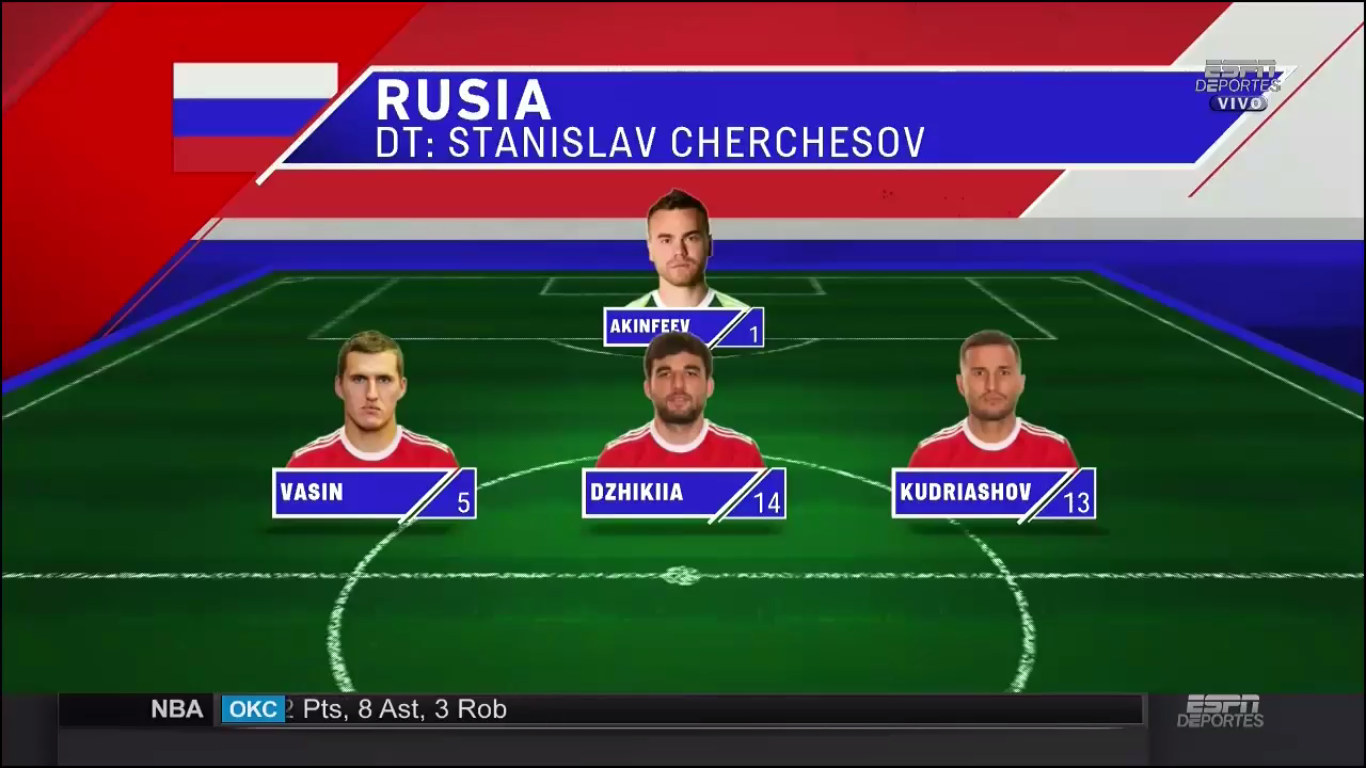 11-11-2017 - Russia 0-1 Argentina (FRIENDLY)