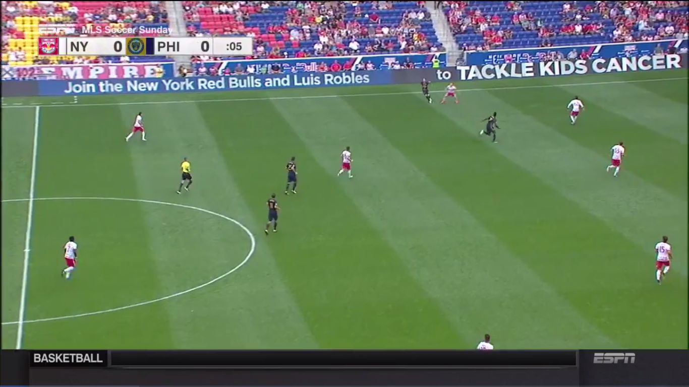 17-09-2017 - New York Red Bulls 0-0 Philadelphia Union
