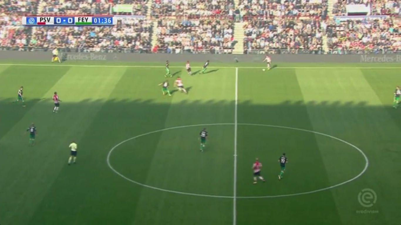 17-09-2017 - PSV Eindhoven 1-0 Feyenoord