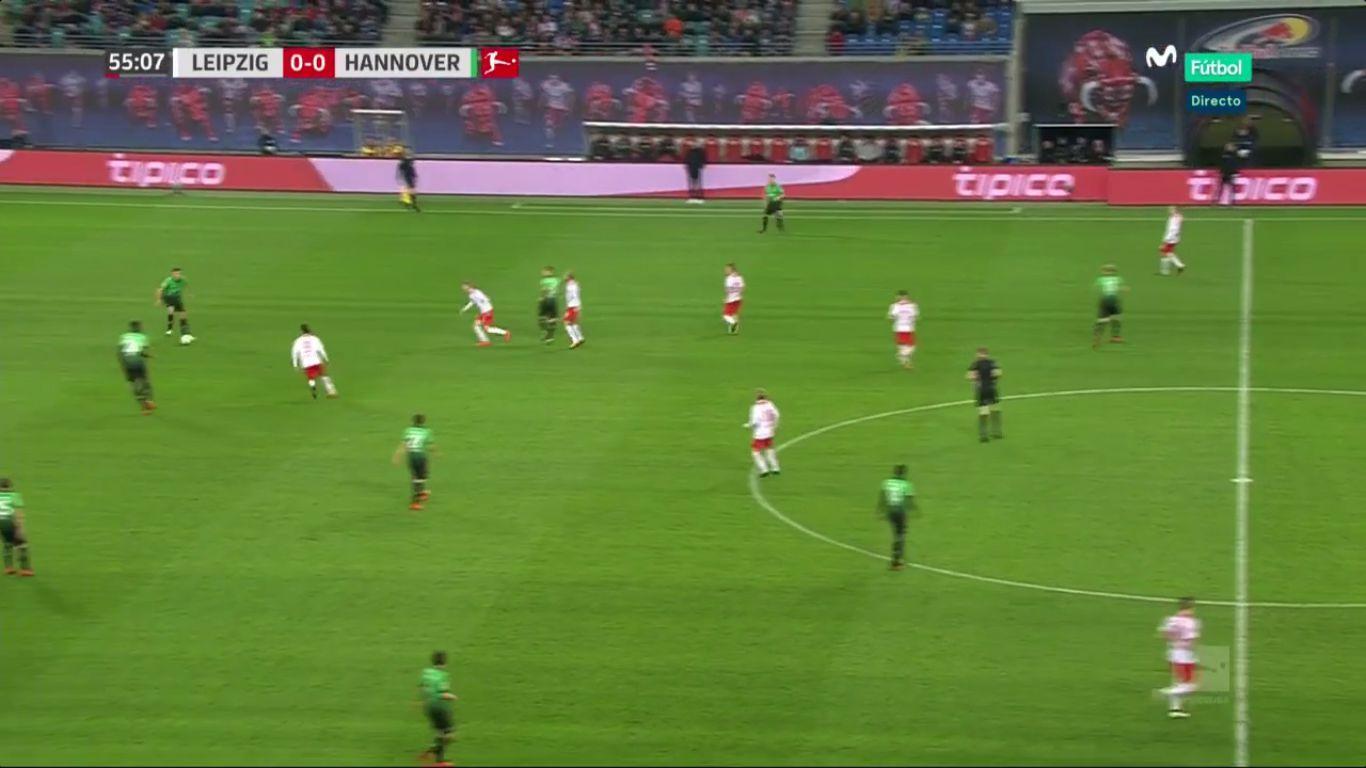 04-11-2017 - RasenBallsport Leipzig 2-1 Hannover 96