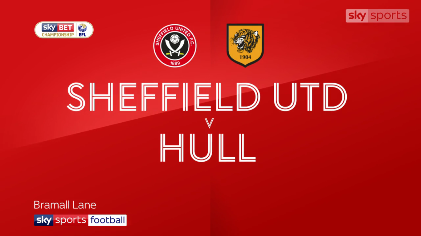 04-11-2017 - Sheffield United - Hull City (CHAMPIONSHIP)
