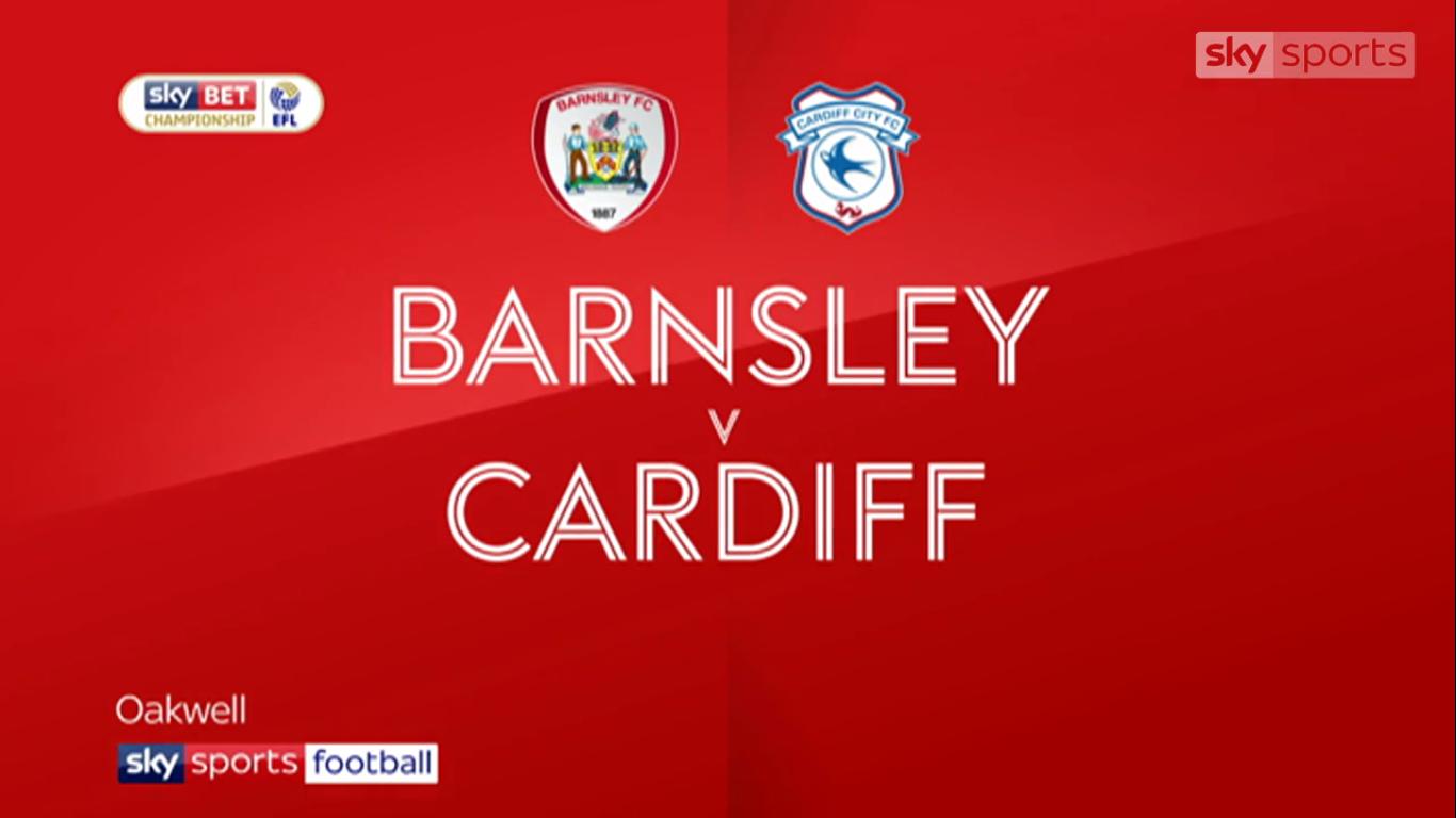 21-11-2017 - Barnsley 0-1 Cardiff City (CHAMPIONSHIP)