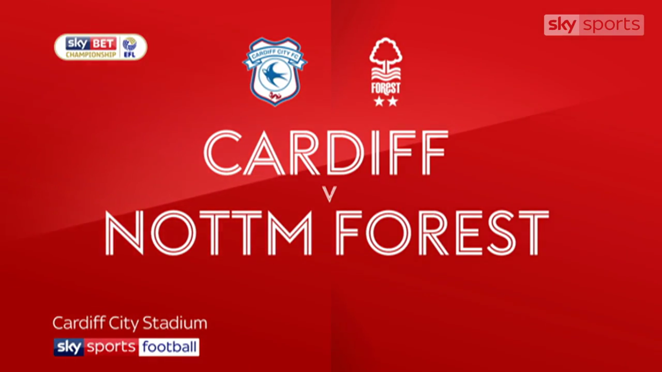 Cardiff City 2-1 Nottingham Forest (CHAMPIONSHIP)