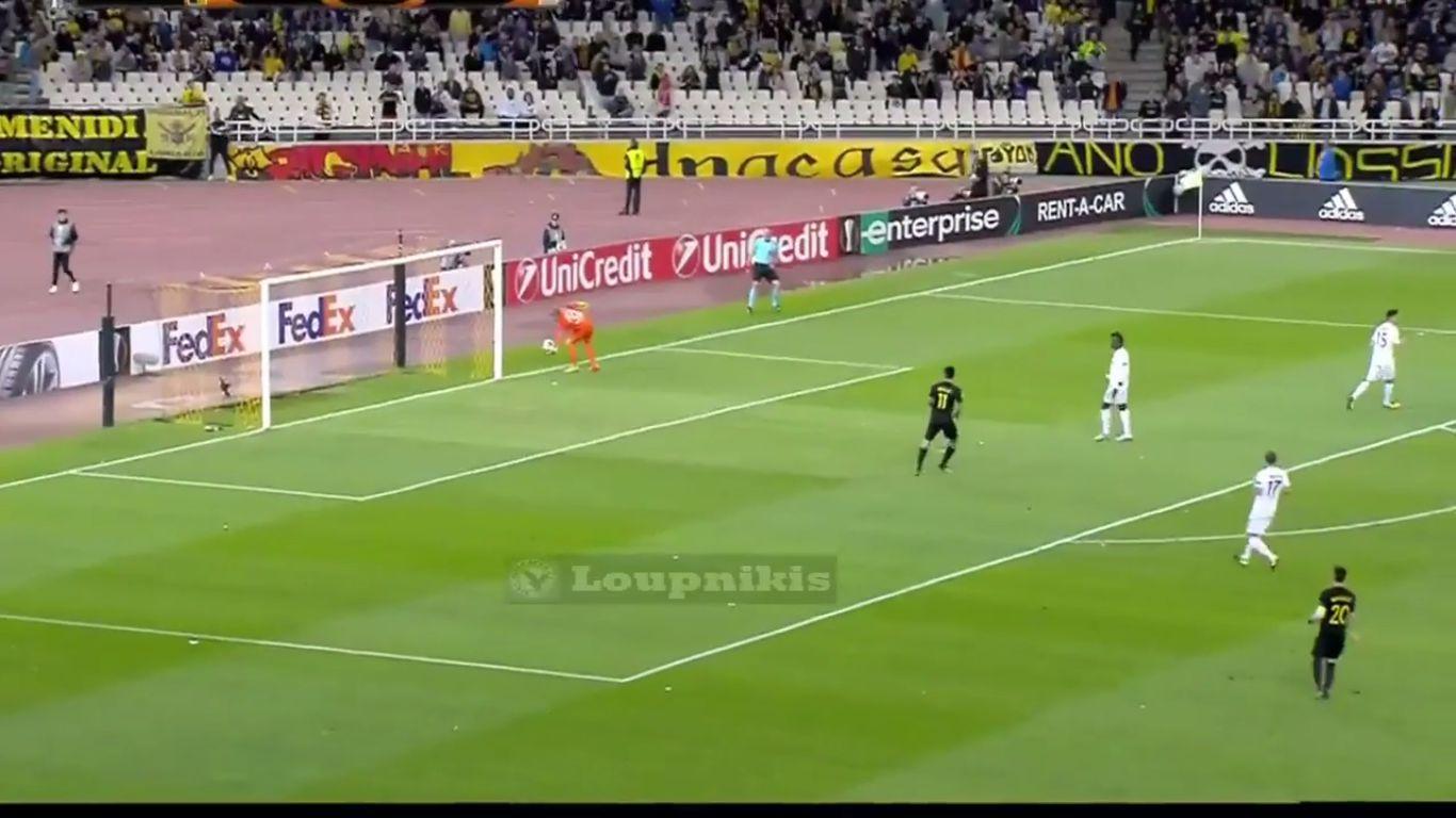 28-09-2017 - AEK Athens 2-2 Austria Wien (EUROPA LEAGUE)