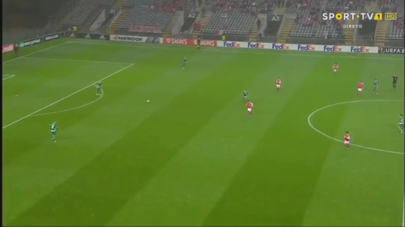 19-10-2017 - Braga 0-2 Ludogorets Razgrad (EUROPA LEAGUE)