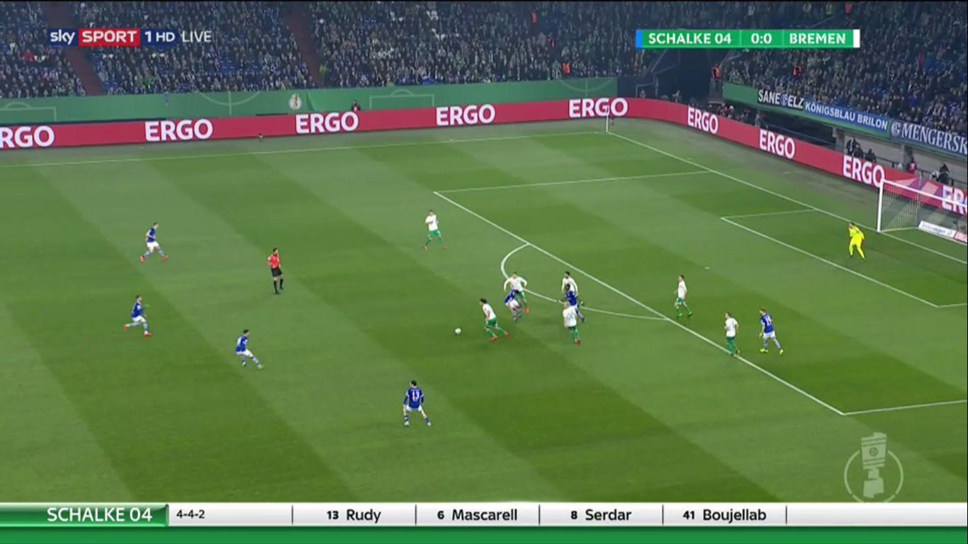 03-04-2019 - Schalke 04 0-2 Werder Bremen (DFB POKAL)