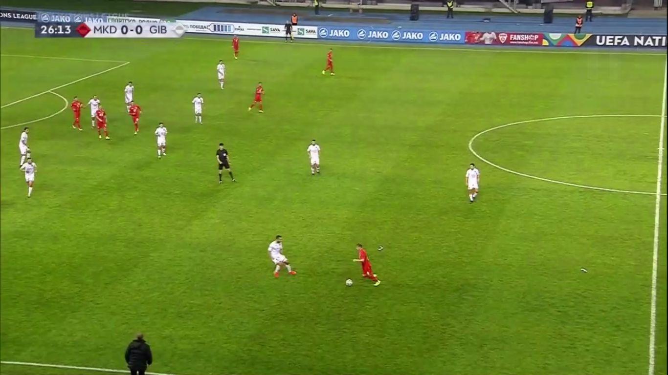 19-11-2018 - FYR Macedonia 4-0 Gibraltar (UEFA NATIONS LEAGUE)