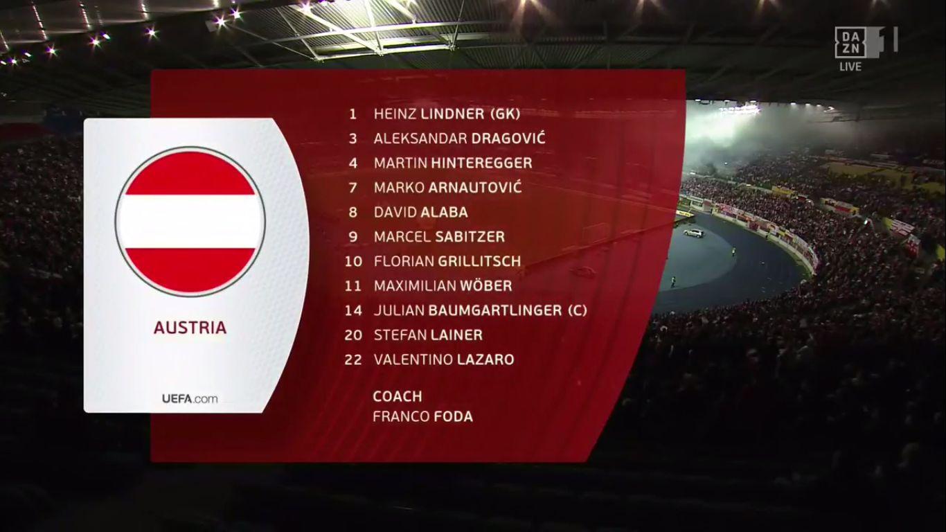 21-03-2019 - Austria 0-1 Poland (EURO QUALIF.)