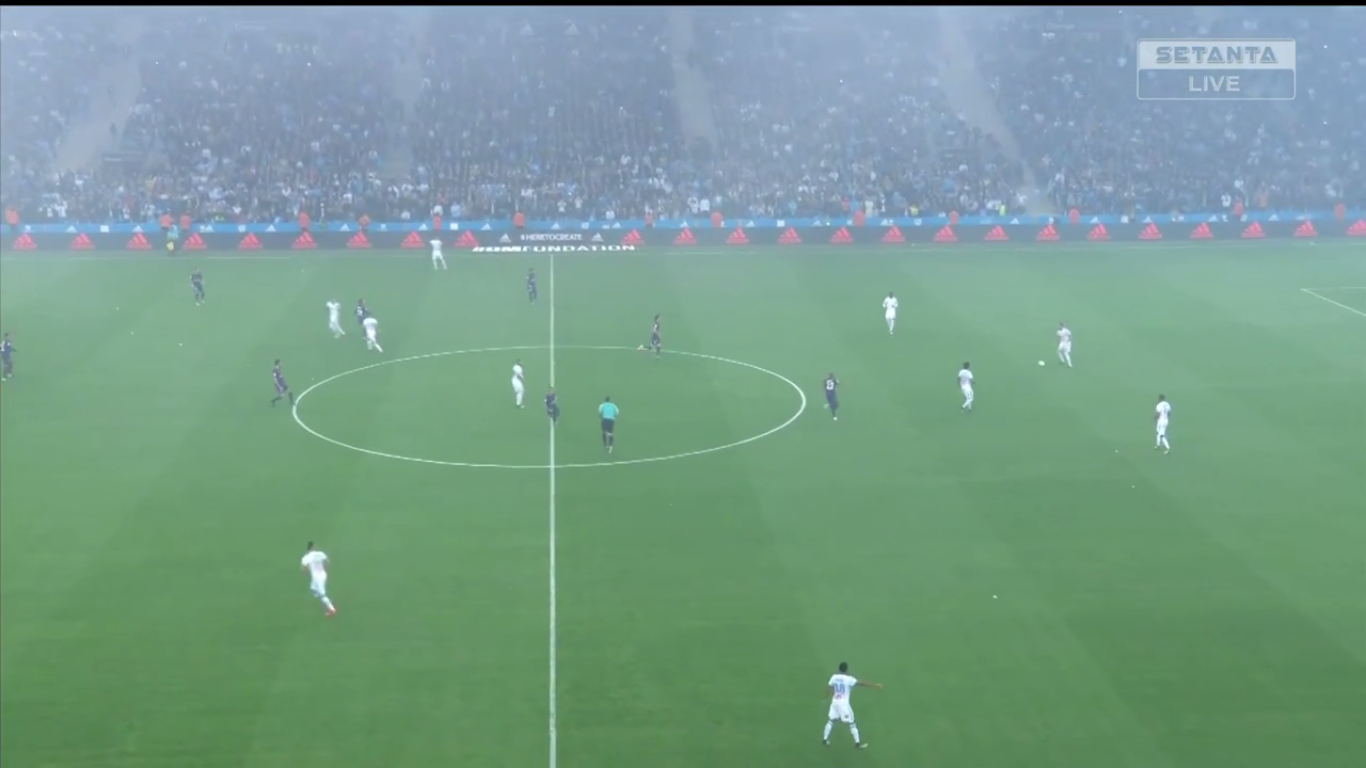 Marseille 2-2 Paris Saint Germain
