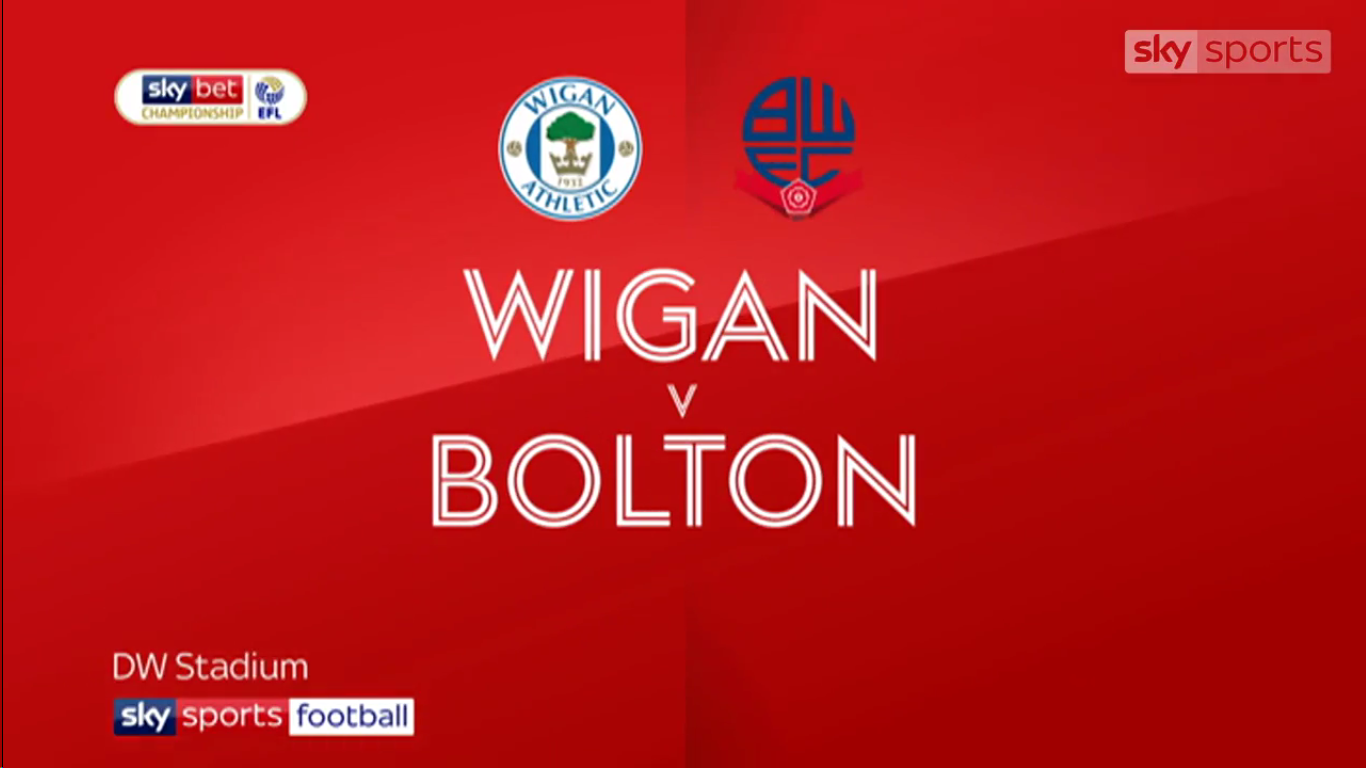 16-03-2019 - Wigan Athletic 5-2 Bolton Wanderers (CHAMPIONSHIP)