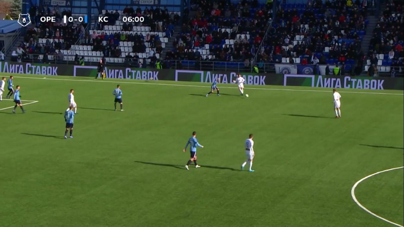 20-10-2019 - FC Orenburg 0-1 Krylya Sovetov Samara