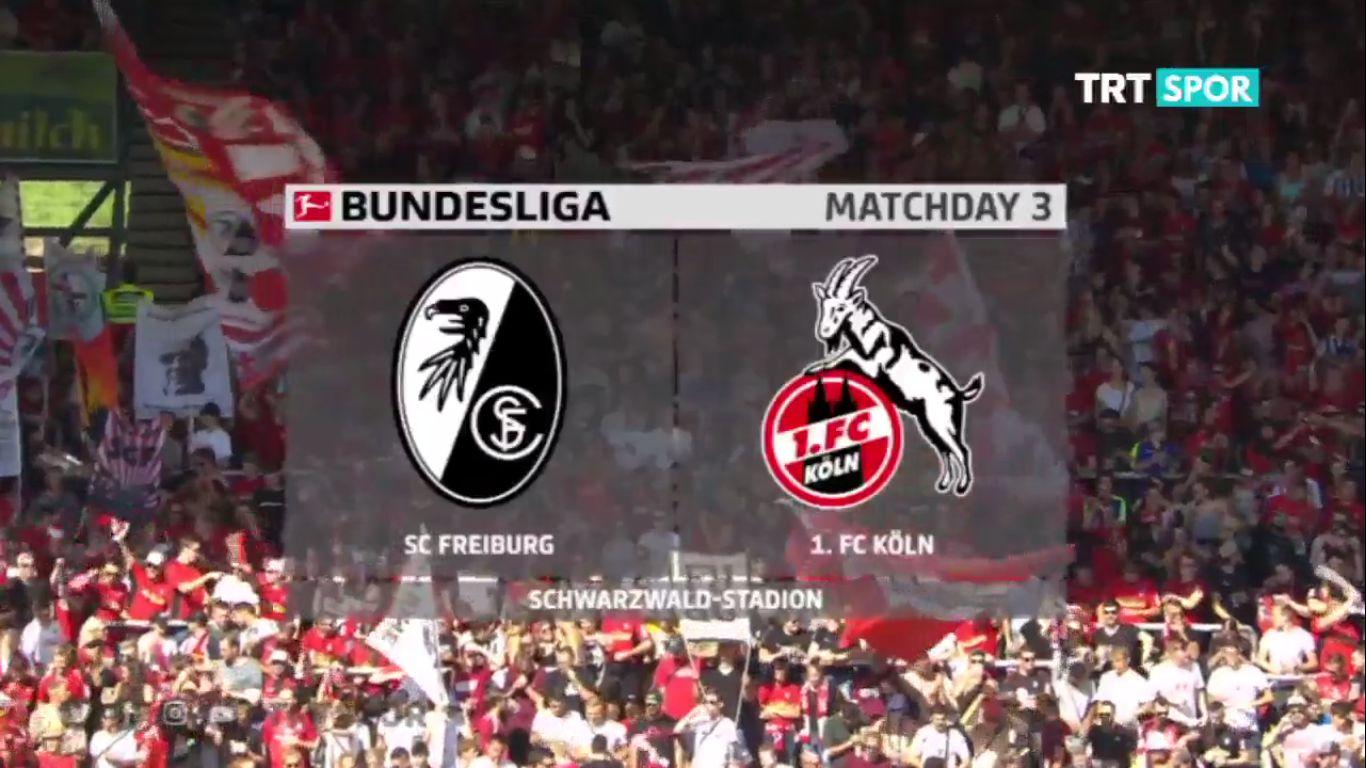 31-08-2019 - Freiburg 1-2 1. FC Koln