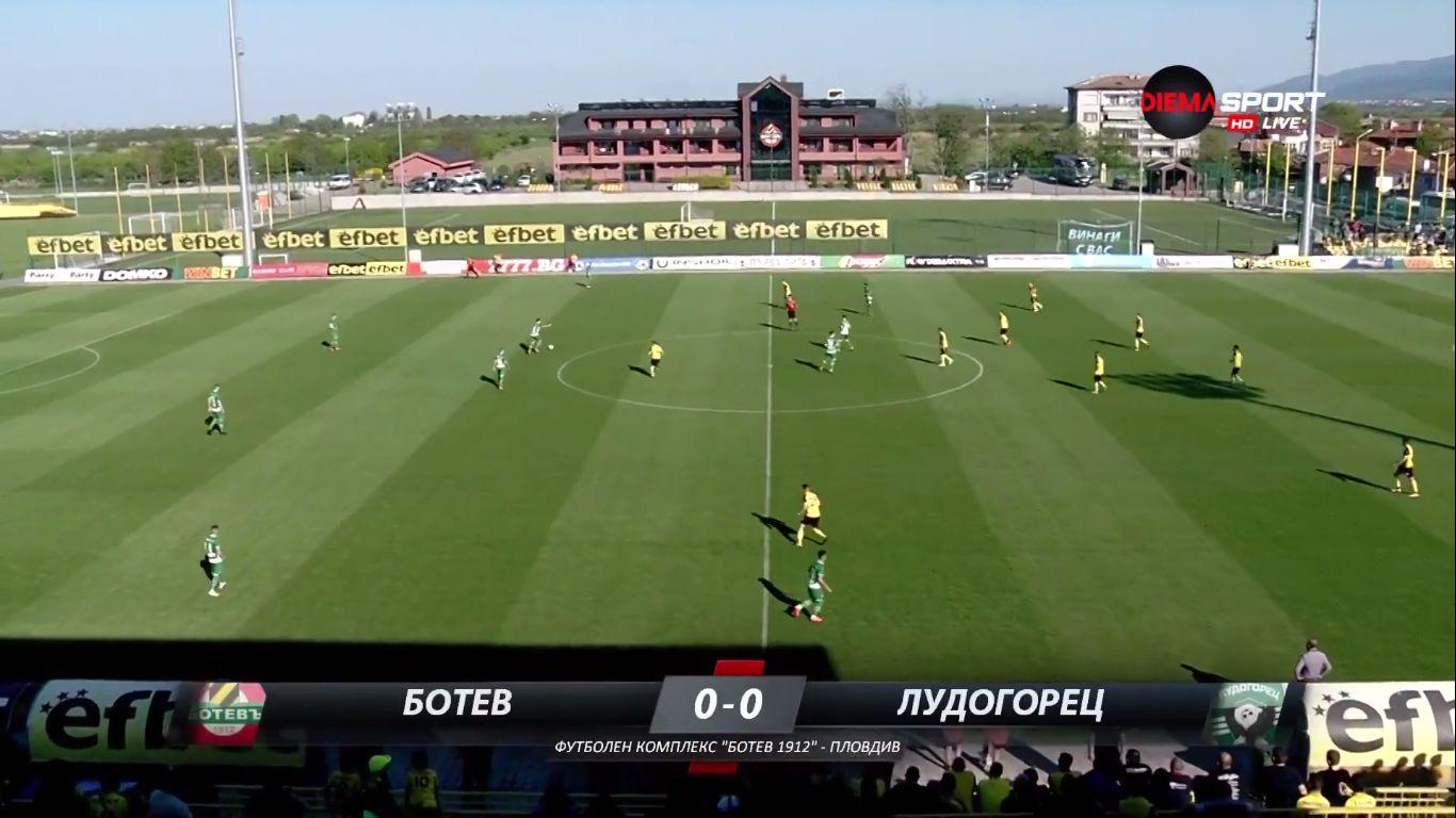 21-04-2018 - Botev Plovdiv 2-4 Ludogorets Razgrad