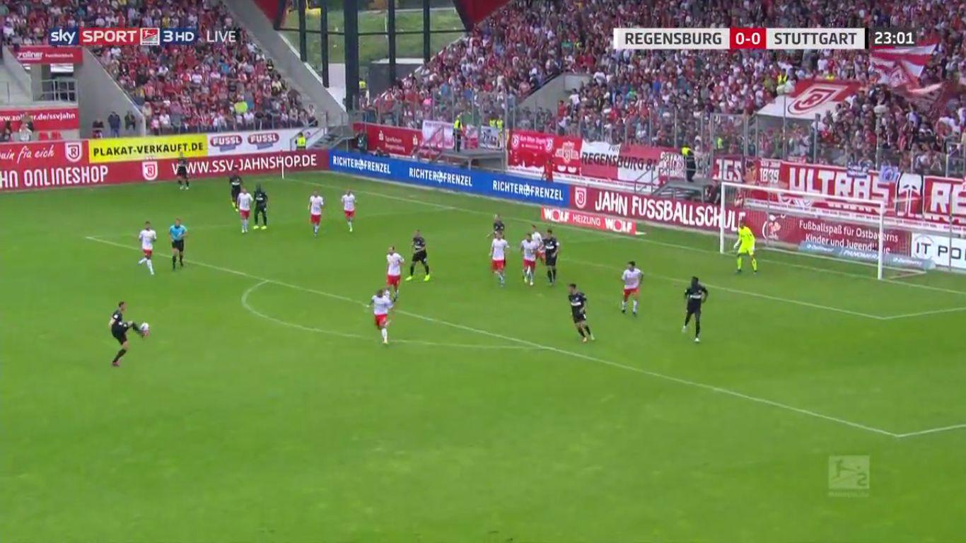 14-09-2019 - SSV Jahn Regensburg 2-3 VfB Stuttgart (2. BUNDESLIGA)