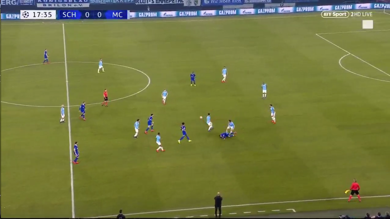 20-02-2019 - Schalke 04 2-3 Manchester City (CHAMPIONS LEAGUE)