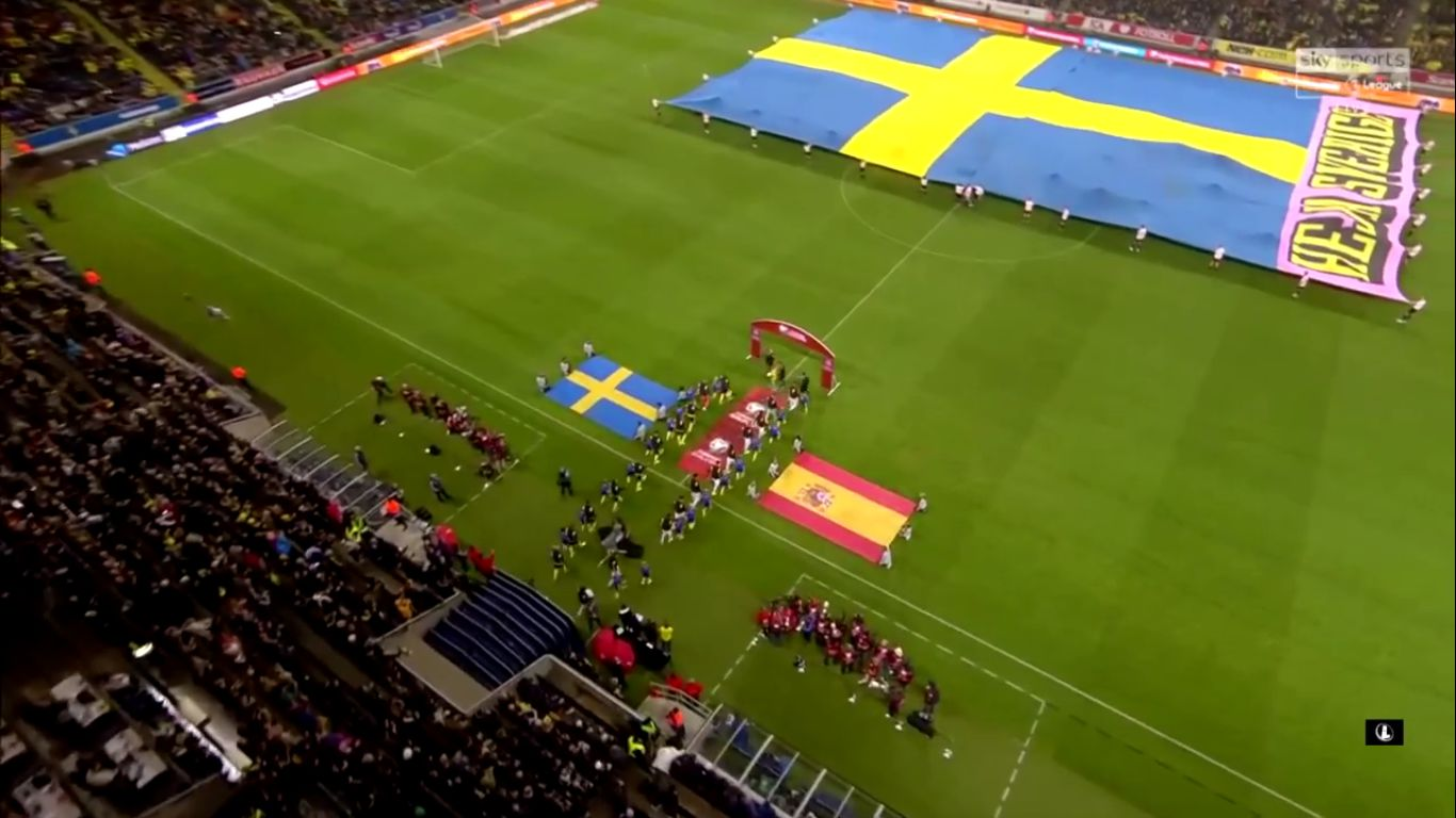 15-10-2019 - Sweden 1-1 Spain (EURO QUALIF.)