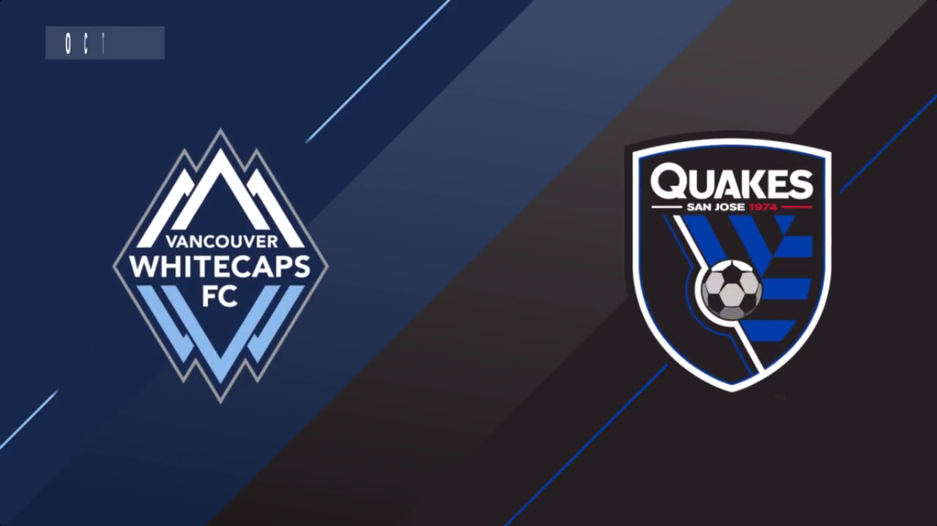 Vancouver Whitecaps 1-1 San Jose Earthquakes