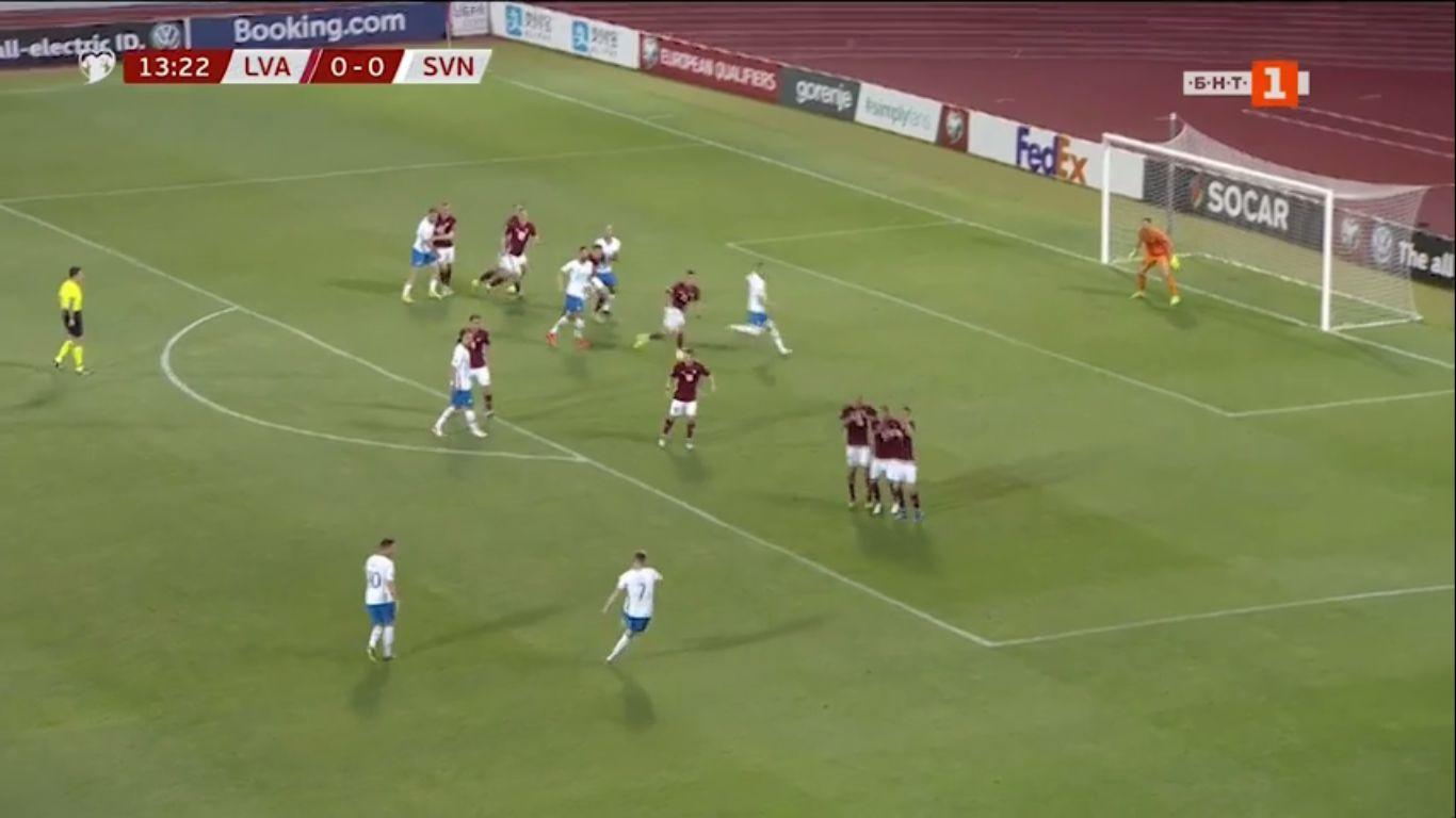 10-06-2019 - Latvia 0-5 Slovenia (EURO QUALIF.)