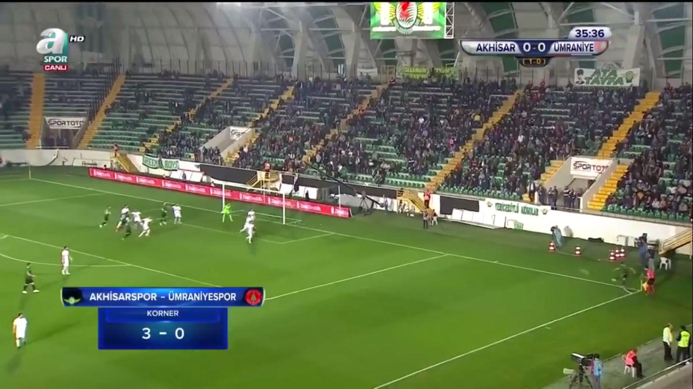24-04-2019 - Akhisar Belediyespor 1-0 Umraniyespor (ZIRAAT CUP)