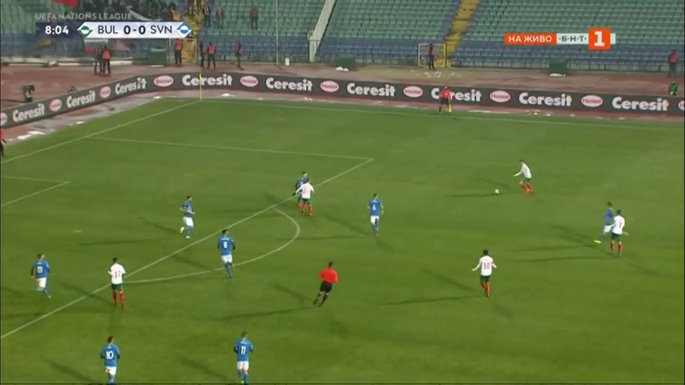19-11-2018 - Bulgaria 1-1 Slovenia (UEFA NATIONS LEAGUE)