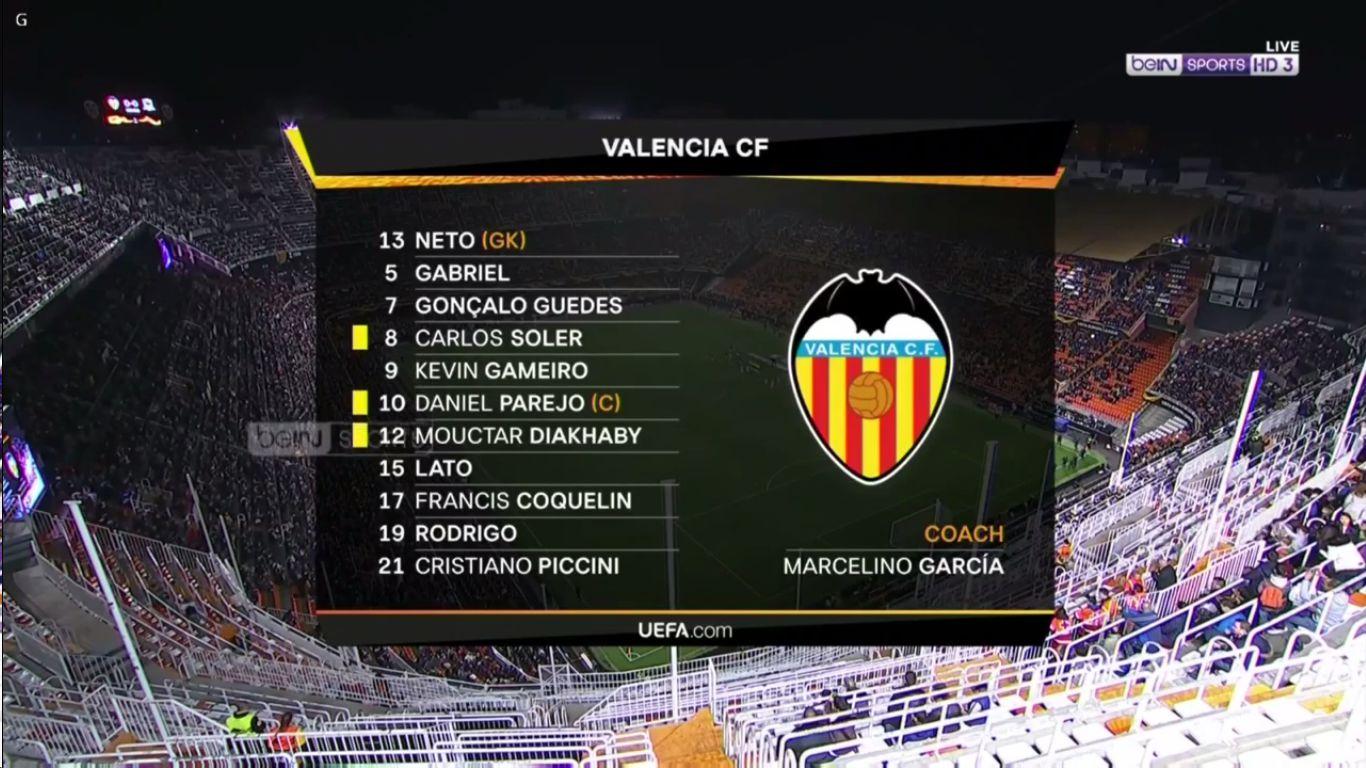 07-03-2019 - Valencia 2-1 FC Krasnodar (EUROPA LEAGUE)