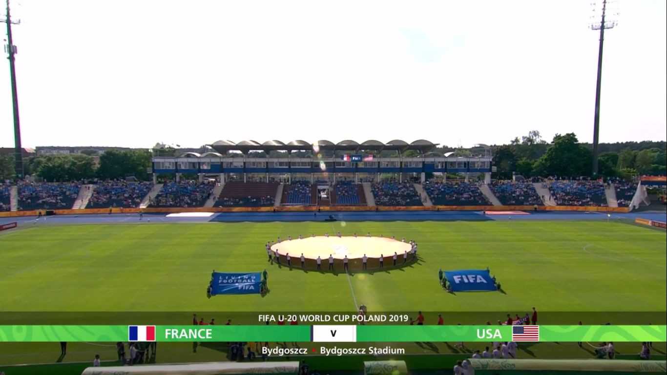 04-06-2019 - France U20 2-3 USA U20 (WORLD CUP U20)