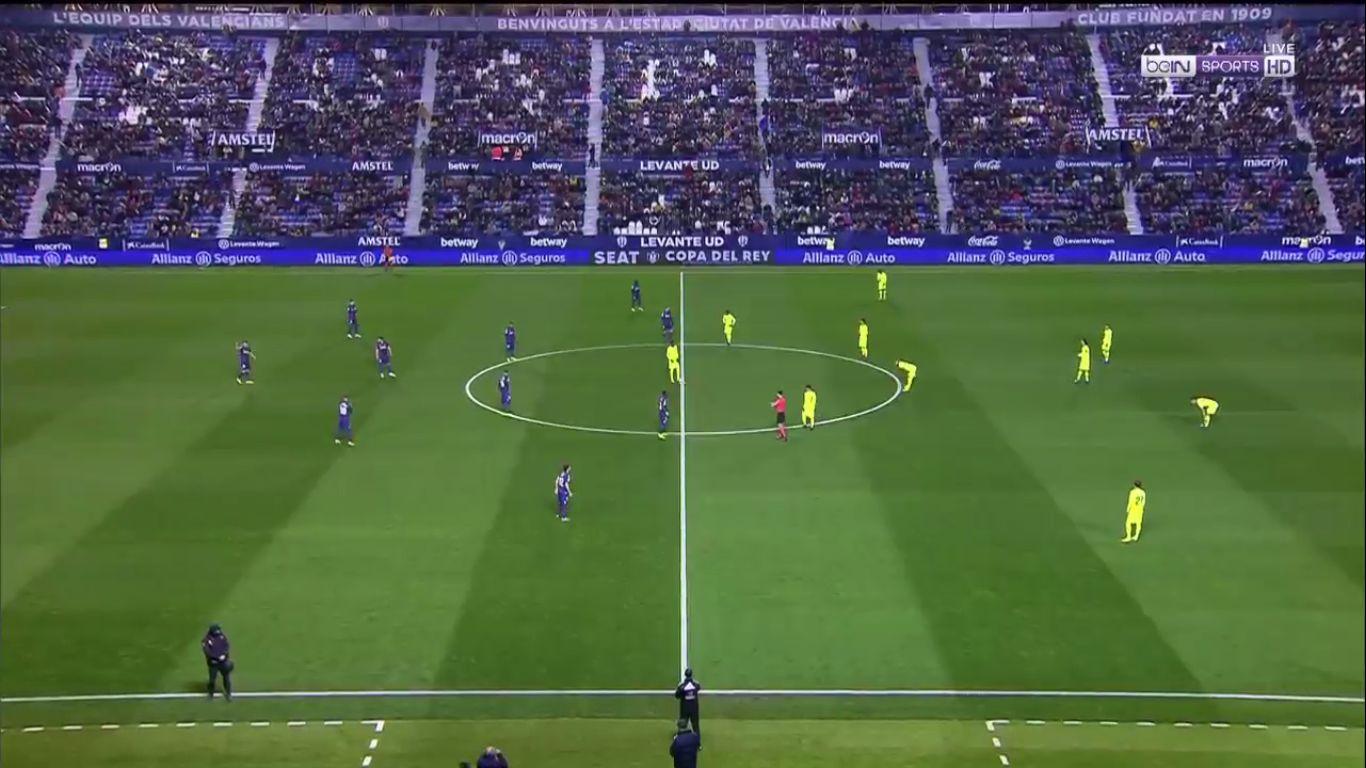 10-01-2019 - Levante 2-1 Barcelona (COPA DEL REY)