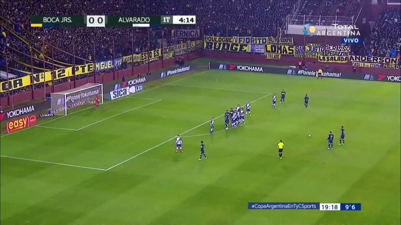 02-08-2018 - Boca Juniors 6-0 CA Alvarado (COPA ARGENTINA)