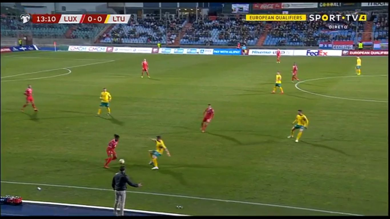22-03-2019 - Luxembourg 2-1 Lithuania (EURO QUALIF.)